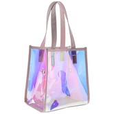 Pink Holographic Project Bag