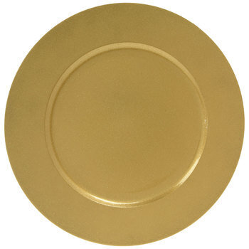 Gold Glitter Plate Charger