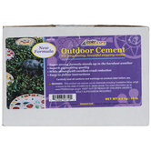 Bright White Outdoor Cement
