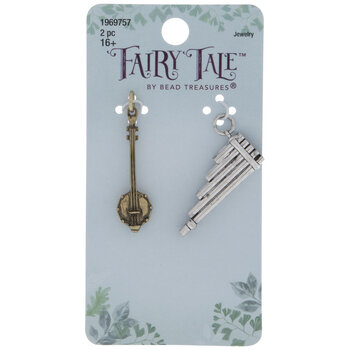 Sitar & Flute Charms