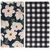 Floral & Buffalo Check Journals