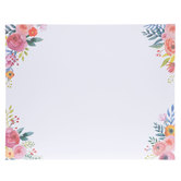 "Floral Corners Poster Board - 22"" x 28"""
