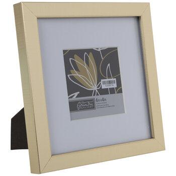 Gold Brushed Flat Frame