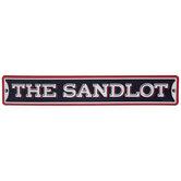 The Sandlot Metal Sign