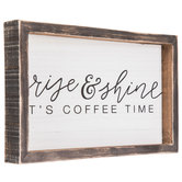 Rise & Shine Wood Wall Decor