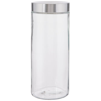 Stainless Glass Mason Jar - 71 Ounce