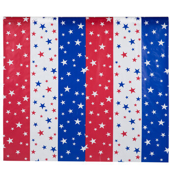 Red, White & Blue Stars Table Cover Roll