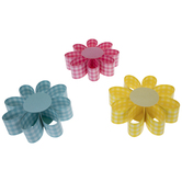 Gingham Flowers Paper Craft Kit