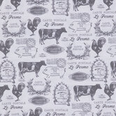 Le Ferme Animals Duck Cloth Fabric