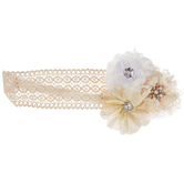 Flower Cluster Headband