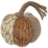 Burlap & Jute Pumpkin