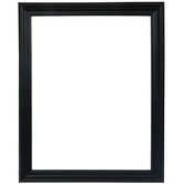 "Matte Black Wood Open Frame - 14"" x 18"""