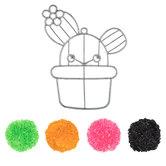 Cactus Makit & Bakit Suncatcher Kit