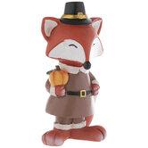 Pilgrim Fox Holding Pumpkin