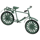 Miniature Green Bike