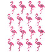 Pink Flamingo 3D Stickers