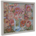 Pink Blooms Wood Wall Decor