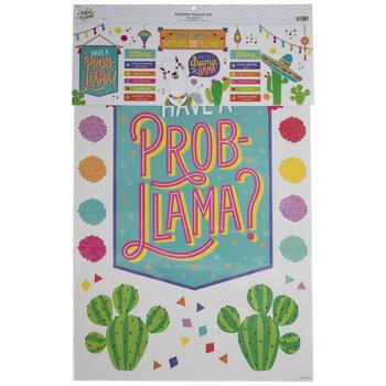 Llama Tattling Or Telling Bulletin Board Set