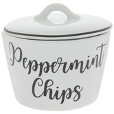 Peppermint Chips Bowl