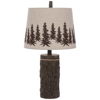 Trees Log Lamp