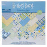 "Baby Boy Scrapbook Kit - 8"" x 8"""