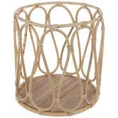 Natural Round Rattan Basket