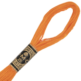 971 Pumpkin DMC Cotton Embroidery Floss