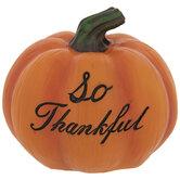 Orange So Thankful Pumpkin