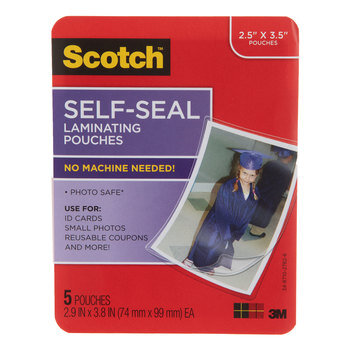 Scotch Self-Seal Laminating Pouches