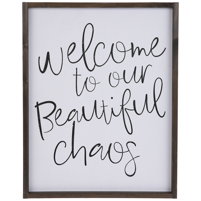 Beautiful Chaos Wood Wall Decor Hobby Lobby 1795053