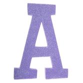 Glitter Foam Letter - A
