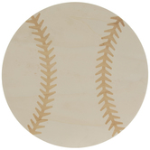 Baseball Wood Shape