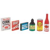 Miniature Groceries & Soap