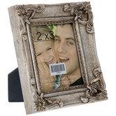 "Silver Antique Frame - 2 1/2"" x 3"""