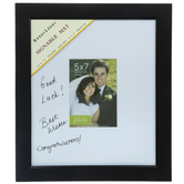 "Black Flat Signature Wood Frame - 5"" x 7"""