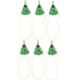 Green Christmas Tree Mini Party Hats