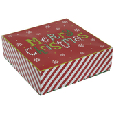 Merry Christmas Treat Boxes