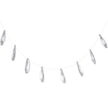 Faceted Rhinestone Garland