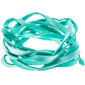 """Turquoise Deerskin Lace - 3/16"""""""