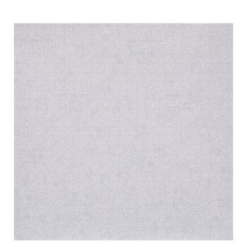 Gray & White Lace Self-Adhesive Vinyl