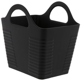 Rectangle Ribbed Container With Handles