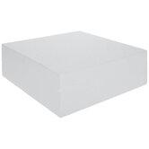SmoothFoM Foam Square Cake Form