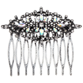 Ornate Crystal Hair Comb