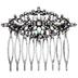 Ornate Crystal Hair Comb