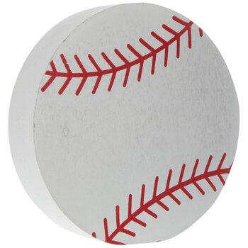 Baseball Wood Decor