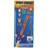 Space Crater Model Rocket Kit