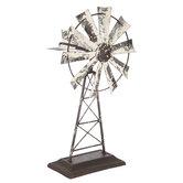 Rustic Metal Windmill
