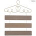 To Sew Or Not To Sew Hanger Wood Wall Decor