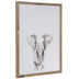 Elephant Wood Wall Decor
