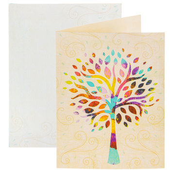 Multi-Color Tree Cards
